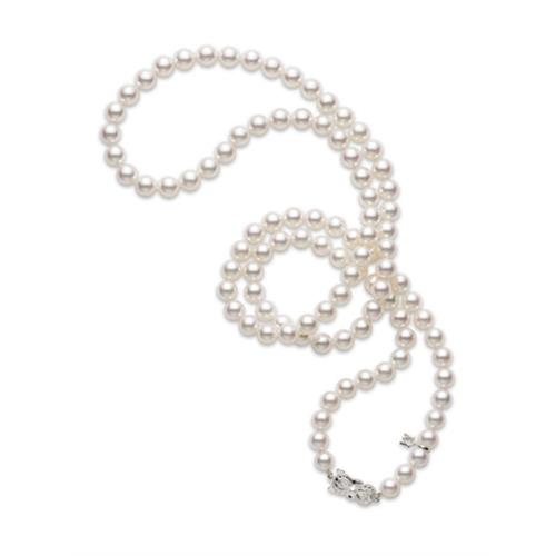 Akoya Cultured Pearl Strand Necklace - 07-05-005