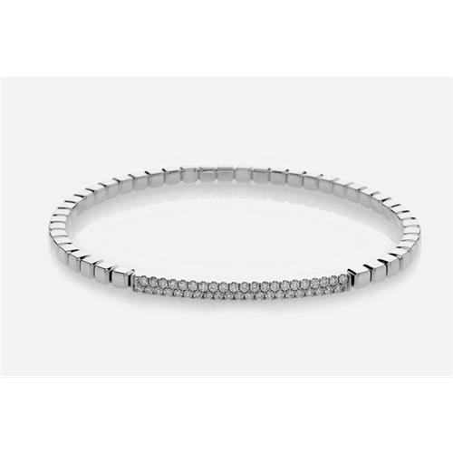 18ct White Gold and Diamond Bracelet - WG BLET