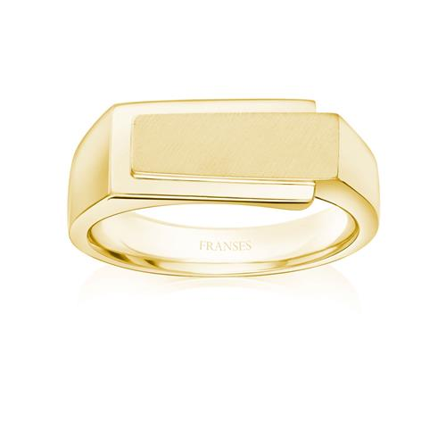 18ct Signet Ring - 01-25-117