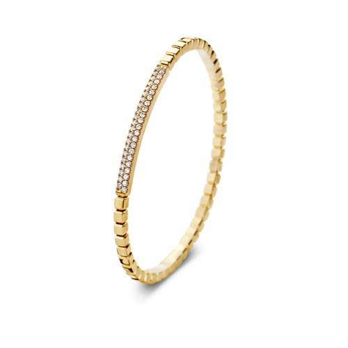 18ct Yellow Gold and Diamond Bracelet - YG DIA BLET