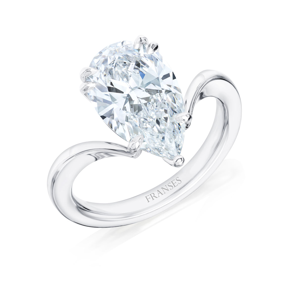 Haute Jewellery Pear Shaped Ring - 01-01-212