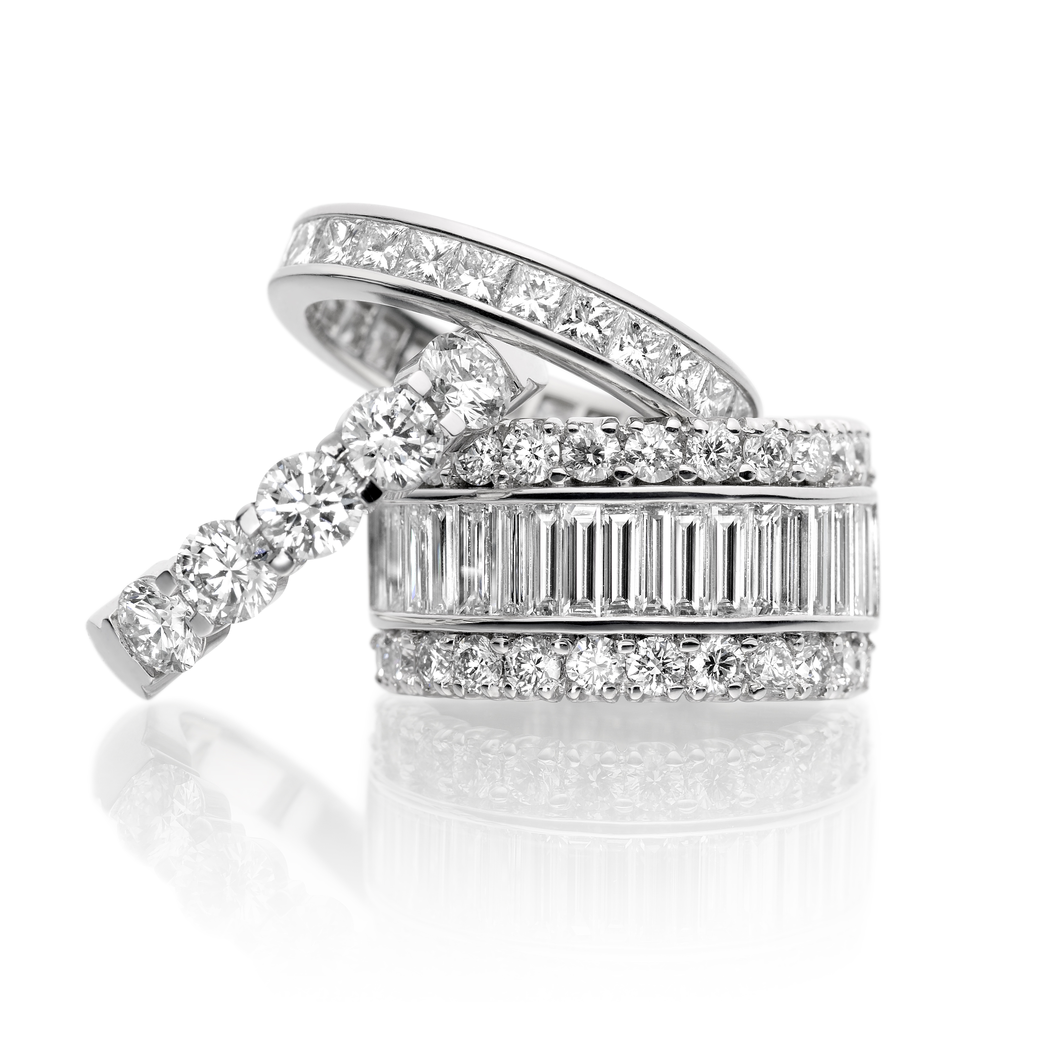 Franses eternity rings