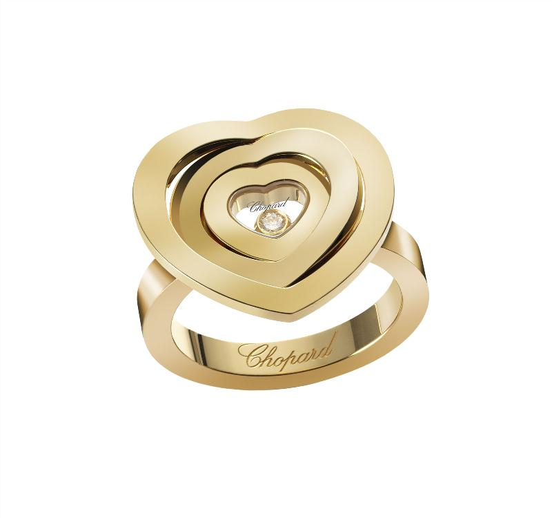 Happy Spirit Heart ring