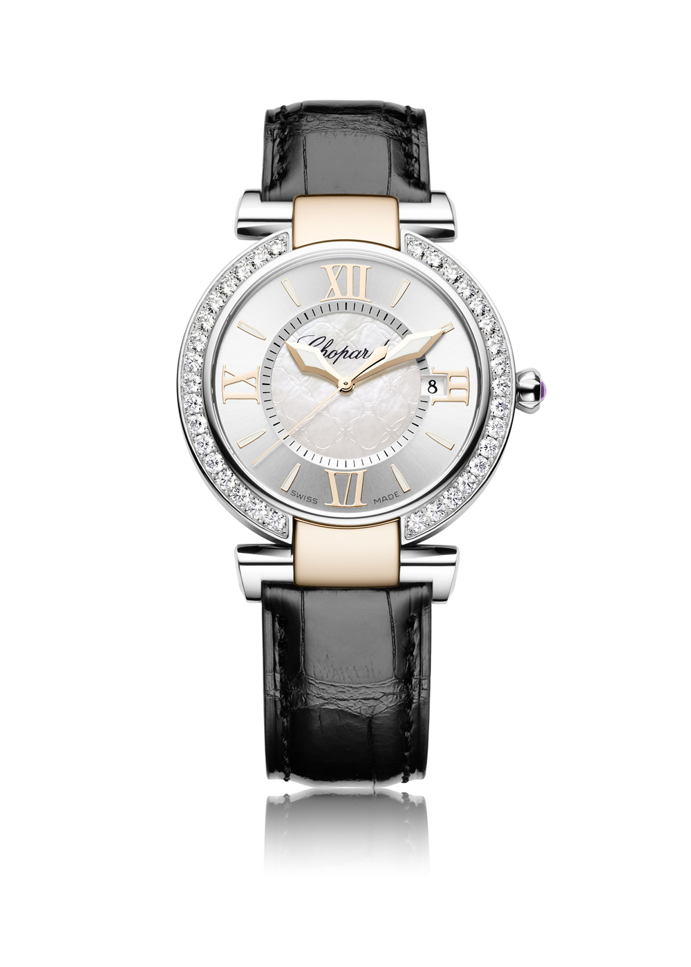 Imperiale Two Tone watch - Imperiale 2 tone leather