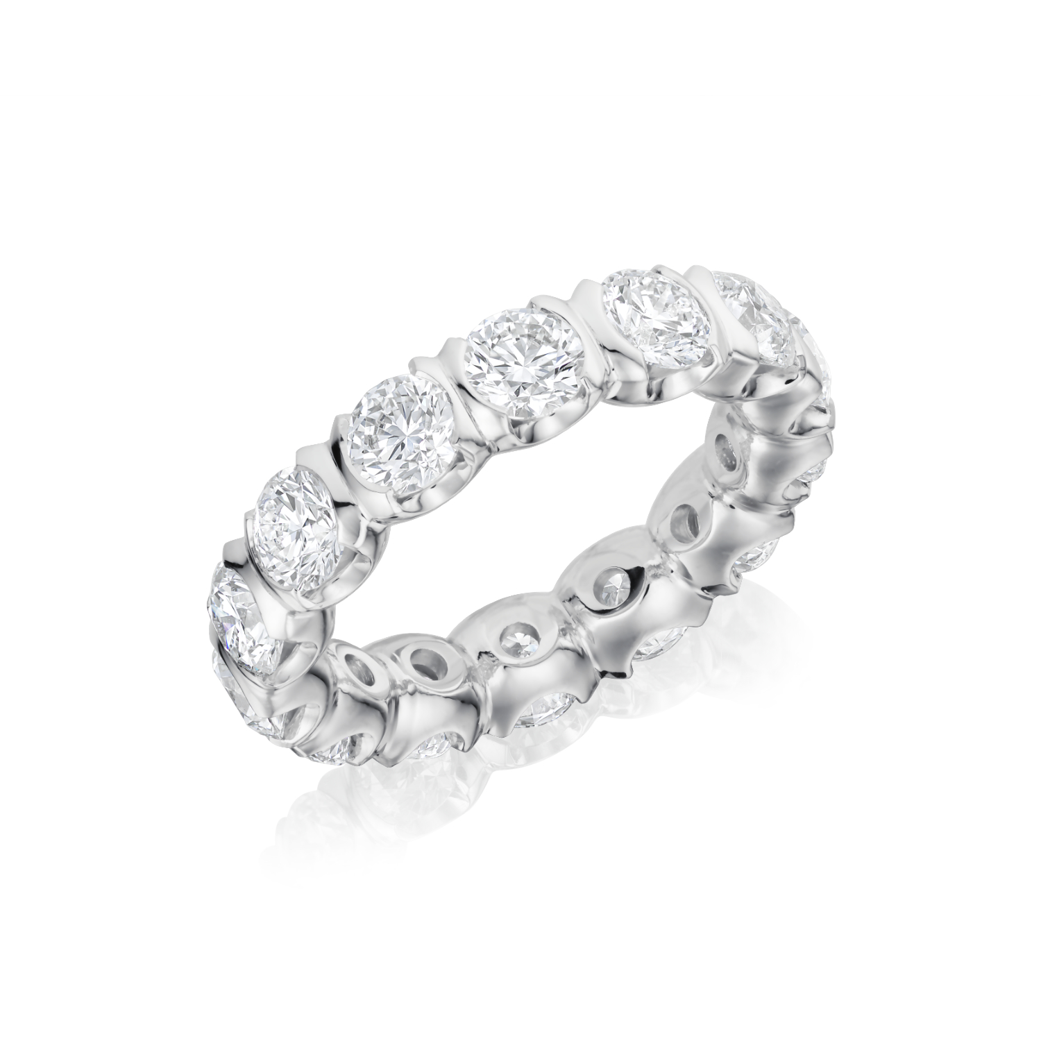 Full Diamond Set Ring