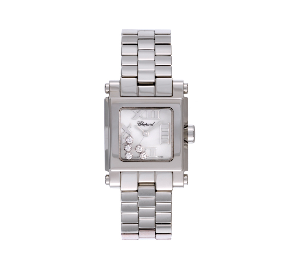 Happy Sport Mini square watch - Happy Sport Mini sq ss