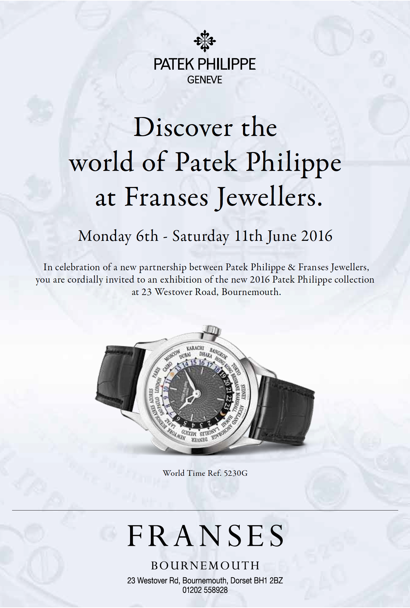 May 2016 - Patek Philippe at Franses Jewellers