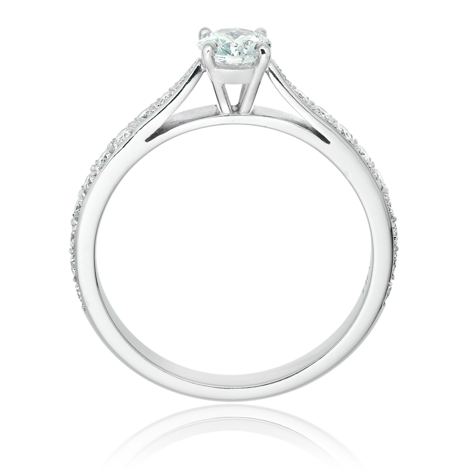 Diamond engagement ring - LA355