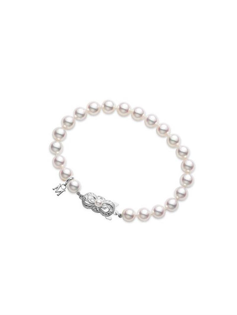 18ct White Gold Strand Bracelet  - 07-07-006