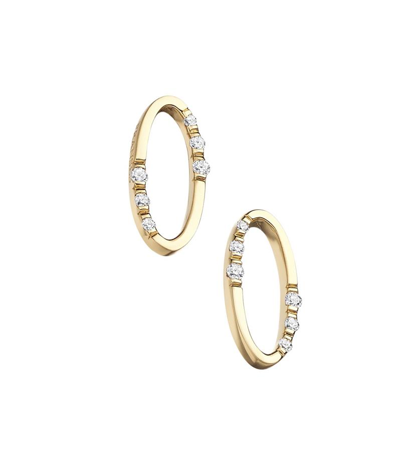 'Oh' Earrings  - oval-earring
