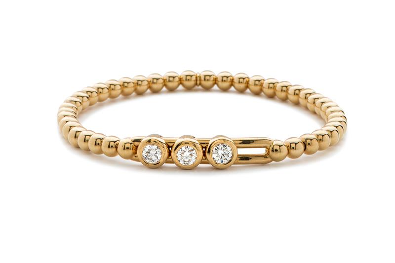 18ct Rose Gold and Diamond Bracelet  - RG DIA BLETS