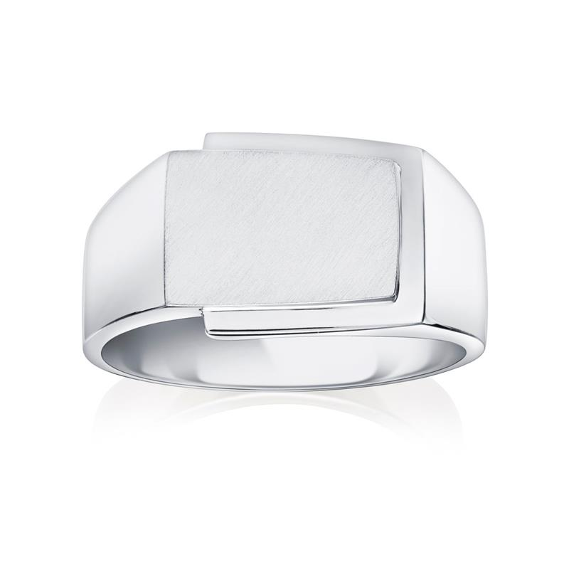 18ct Wide Signet Ring  - 03-05-021